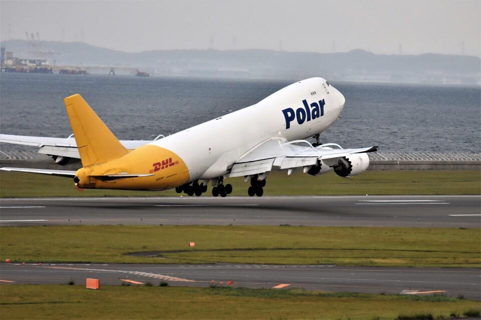 MSN/PFさんのポーラーエアカーゴ Boeing 747-8 (N857GT) 航空フォト