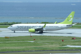 kumagorouさんが、那覇空港で撮影したソラシド エア 737-81Dの航空フォト(飛行機 写真・画像)