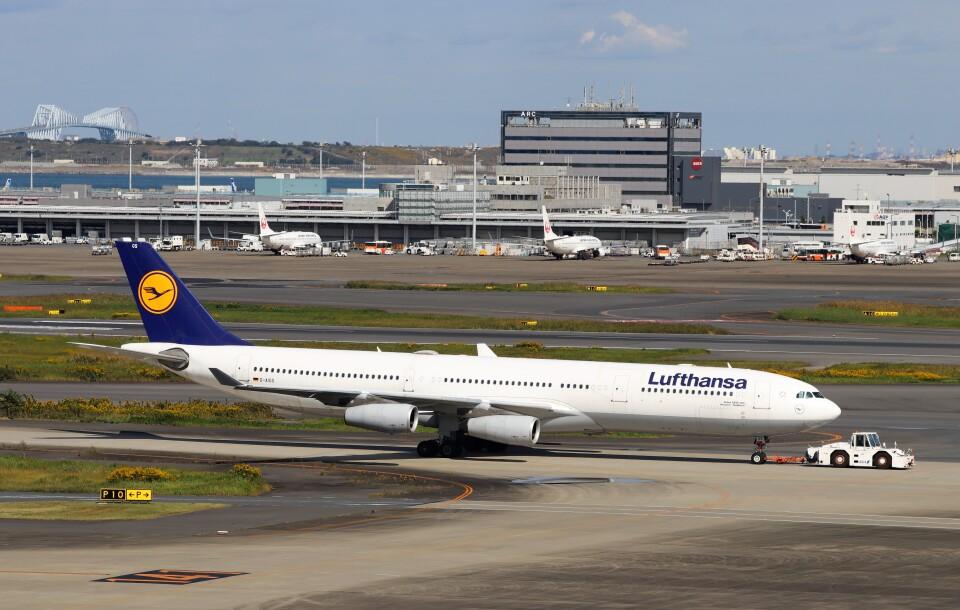 ハム太郎。さんのルフトハンザドイツ航空 Airbus A340-300 (D-AIGS) 航空フォト