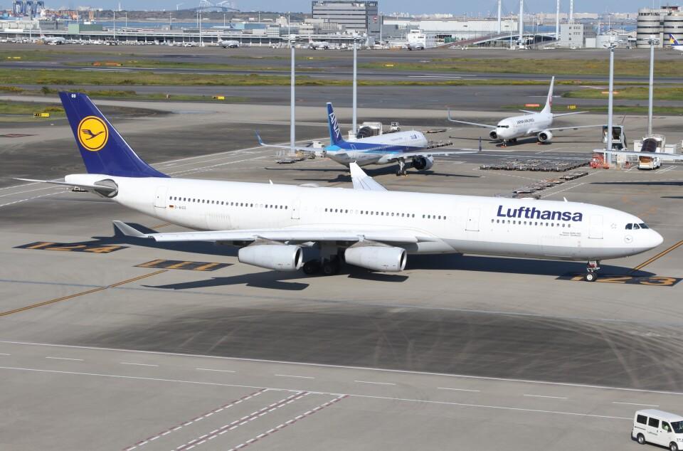 サリーちゃんのパパさんのルフトハンザドイツ航空 Airbus A340-300 (D-AIGS) 航空フォト