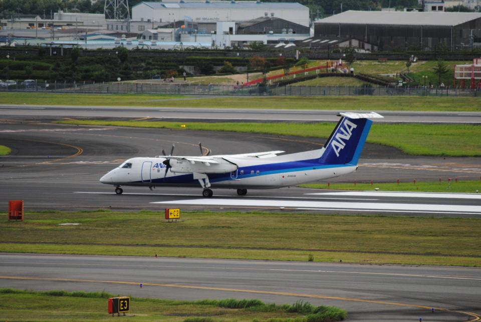 LEGACY-747さんのエアーニッポンネットワーク Bombardier DHC-8-300 (JA803K) 航空フォト