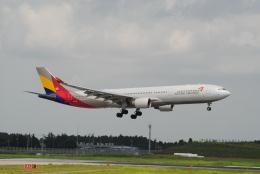LEGACY-747さんが、成田国際空港で撮影したアシアナ航空 A330-323Xの航空フォト(飛行機 写真・画像)