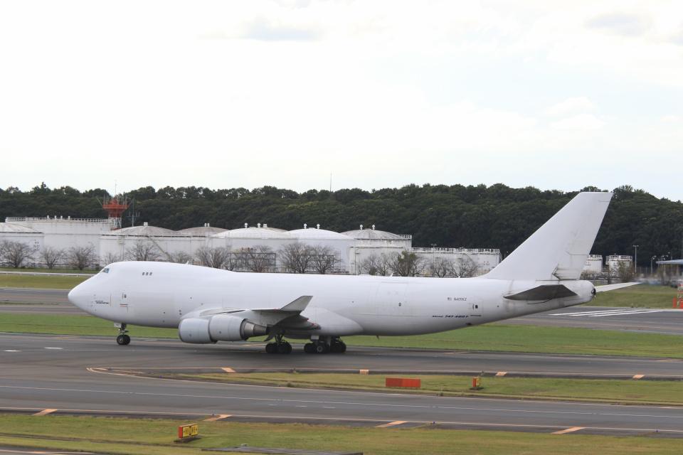 inyoさんのアトラス航空 Boeing 747-400 (N405KZ) 航空フォト