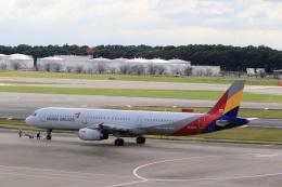 inyoさんが、成田国際空港で撮影したアシアナ航空 A321-231の航空フォト(飛行機 写真・画像)