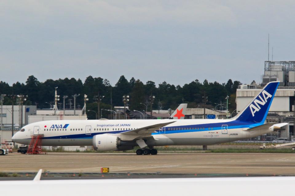 inyoさんの全日空 Boeing 787-9 (JA893A) 航空フォト