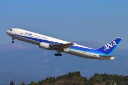 Kuuさんが、鹿児島空港で撮影した全日空 767-381/ERの航空フォト(飛行機 写真・画像)