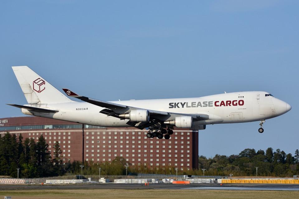 サンドバンクさんのスカイ・リース・カーゴ Boeing 747-400 (N903AR) 航空フォト