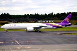 SFJ_capさんが、成田国際空港で撮影したタイ国際航空 777-3D7/ERの航空フォト(飛行機 写真・画像)