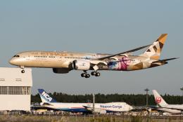 ぎんじろーさんが、成田国際空港で撮影したエティハド航空 787-9の航空フォト(飛行機 写真・画像)