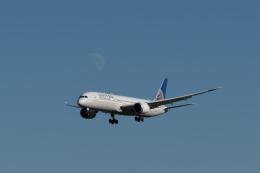 ぎんじろーさんが、成田国際空港で撮影したユナイテッド航空 787-9の航空フォト(飛行機 写真・画像)