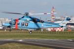 ゴンタさんが、成田国際空港で撮影した千葉県警察 AW139の航空フォト(飛行機 写真・画像)