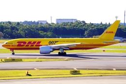 SFJ_capさんが、成田国際空港で撮影したDHL 777-FZNの航空フォト(飛行機 写真・画像)