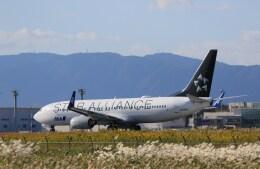kazutoさんが、米子空港で撮影した全日空 737-881の航空フォト(飛行機 写真・画像)