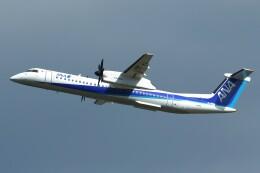 デデゴンさんが、石見空港で撮影したANAウイングス DHC-8-402Q Dash 8の航空フォト(飛行機 写真・画像)