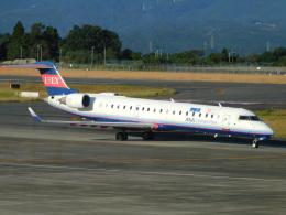 オンくんさんが、鹿児島空港で撮影したアイベックスエアラインズ CL-600-2C10 Regional Jet CRJ-702の航空フォト(飛行機 写真・画像)