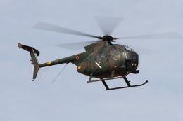 logicさんが、習志野演習場で撮影した陸上自衛隊 OH-6Dの航空フォト(飛行機 写真・画像)