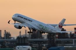 gucciyさんが、羽田空港で撮影した日本航空 A350-941の航空フォト(飛行機 写真・画像)