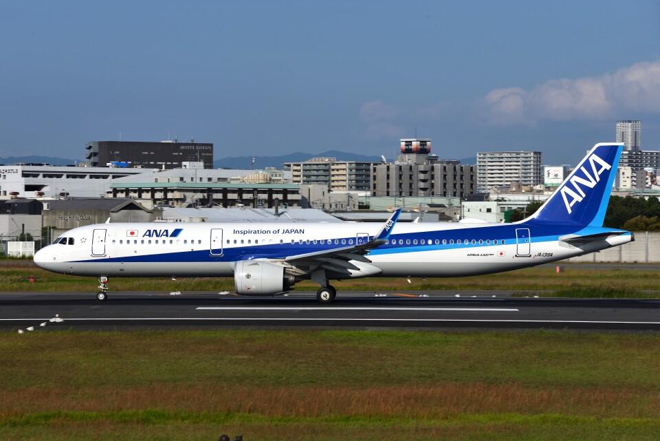 T.Sazenさんの全日空 Airbus A321neo (JA139A) 航空フォト