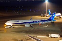ちゃぽんさんが、羽田空港で撮影した全日空 A321-272Nの航空フォト(飛行機 写真・画像)