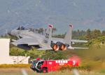 M.Ochiaiさんが、新田原基地で撮影したアメリカ空軍 F-15C-33-MC Eagleの航空フォト(飛行機 写真・画像)