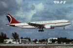 tassさんが、フォートローダーデール・ハリウッド国際空港で撮影したカーニバル エアラインズ A300B4-203の航空フォト(飛行機 写真・画像)