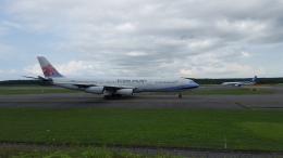 hachiさんが、新千歳空港で撮影したチャイナエアライン A340-313Xの航空フォト(飛行機 写真・画像)