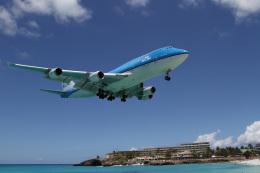 JETBIRDさんが、プリンセス・ジュリアナ国際空港で撮影したKLMオランダ航空 747-406の航空フォト(飛行機 写真・画像)