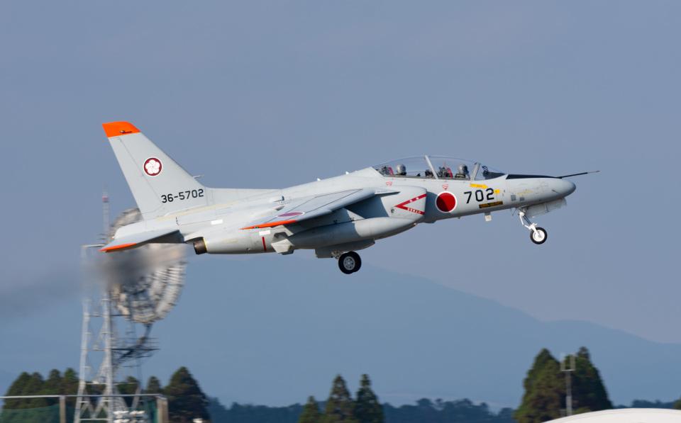 マックパパさんの航空自衛隊 Kawasaki T-4 (36-5702) 航空フォト