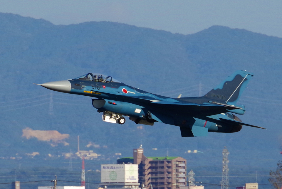 yabyanさんの航空自衛隊 Mitsubishi F-2A (13-8510) 航空フォト