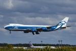Mochi7D2さんが、成田国際空港で撮影したエアブリッジ・カーゴ・エアラインズ 747-8HVFの航空フォト(飛行機 写真・画像)
