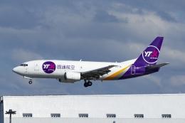 Mochi7D2さんが、成田国際空港で撮影したYTOカーゴ・エアラインズ 737-37Kの航空フォト(飛行機 写真・画像)