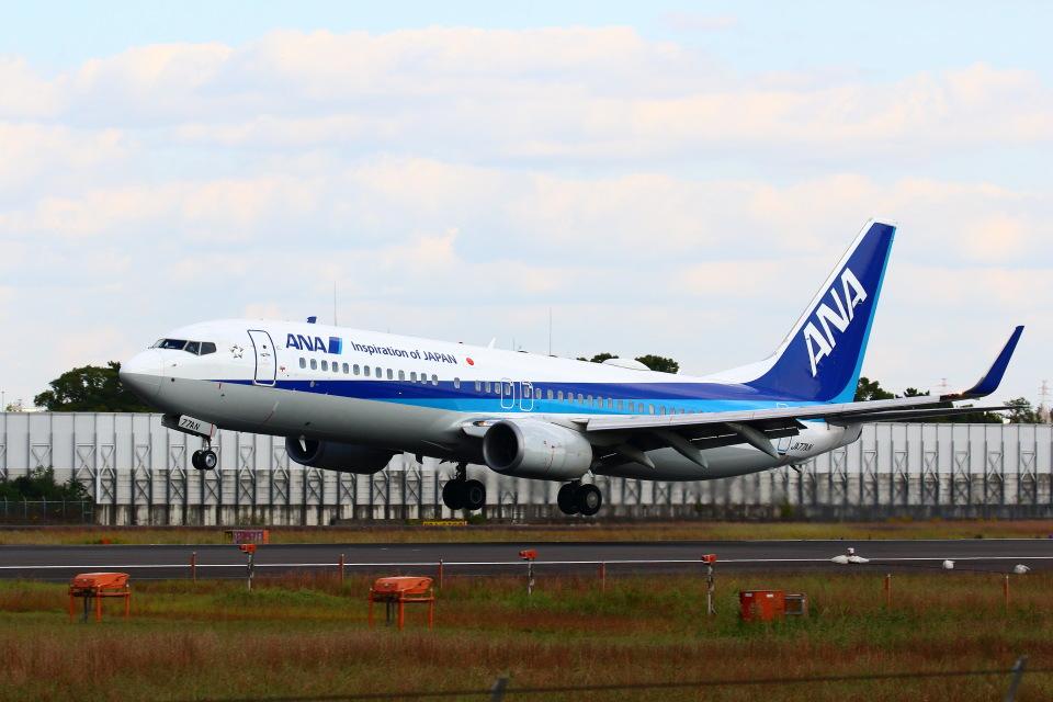 khideさんの全日空 Boeing 737-800 (JA77AN) 航空フォト