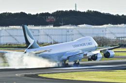 パンダさんが、成田国際空港で撮影したキャセイパシフィック航空 747-867F/SCDの航空フォト(飛行機 写真・画像)