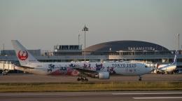 taka1129さんが、高松空港で撮影した日本航空 767-346/ERの航空フォト(飛行機 写真・画像)