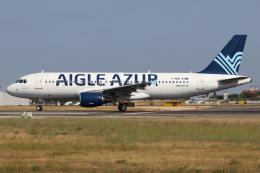 つみネコ♯2さんが、リスボン・ウンベルト・デルガード空港で撮影したエーグル・アズール A320-214の航空フォト(飛行機 写真・画像)