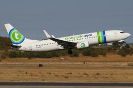 つみネコ♯2さんが、リスボン・ウンベルト・デルガード空港で撮影したトランサヴィア・フランス 737-86Jの航空フォト(飛行機 写真・画像)