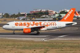 つみネコ♯2さんが、リスボン・ウンベルト・デルガード空港で撮影したイージージェット A319-111の航空フォト(飛行機 写真・画像)
