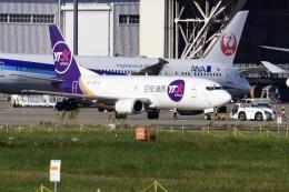 Timothyさんが、成田国際空港で撮影したYTOカーゴ・エアラインズ 737-37Kの航空フォト(飛行機 写真・画像)