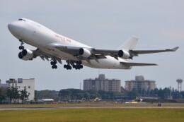 デルタおA330さんが、横田基地で撮影したカリッタ エア 747-4B5F/SCDの航空フォト(飛行機 写真・画像)