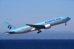 yabyanさんが、中部国際空港で撮影した大韓航空 777-2B5/ERの航空フォト(飛行機 写真・画像)