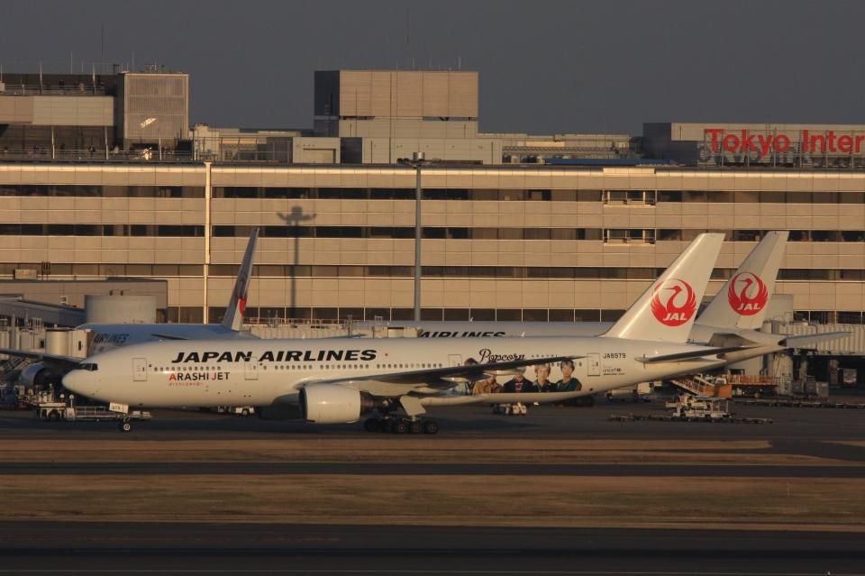 Hiro-hiroさんの日本航空 Boeing 777-200 (JA8979) 航空フォト