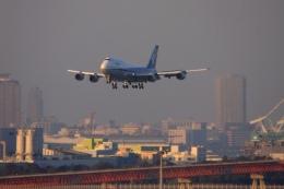 Hiro-hiroさんが、羽田空港で撮影した全日空 747-400の航空フォト(飛行機 写真・画像)