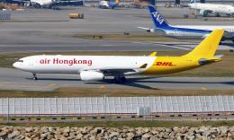 Asamaさんが、香港国際空港で撮影したエアー・ホンコン A330-343(F)の航空フォト(飛行機 写真・画像)