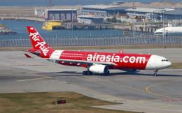 Asamaさんが、香港国際空港で撮影したアエロフロート・ロシア航空 A330-343Xの航空フォト(飛行機 写真・画像)