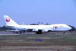 キットカットさんが、成田国際空港で撮影した日本航空 747-246F/SCDの航空フォト(飛行機 写真・画像)
