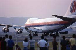 Gambardierさんが、伊丹空港で撮影したユナイテッド航空 747-122の航空フォト(飛行機 写真・画像)