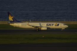 K.Sさんが、中部国際空港で撮影したスカイマーク 737-86Nの航空フォト(飛行機 写真・画像)