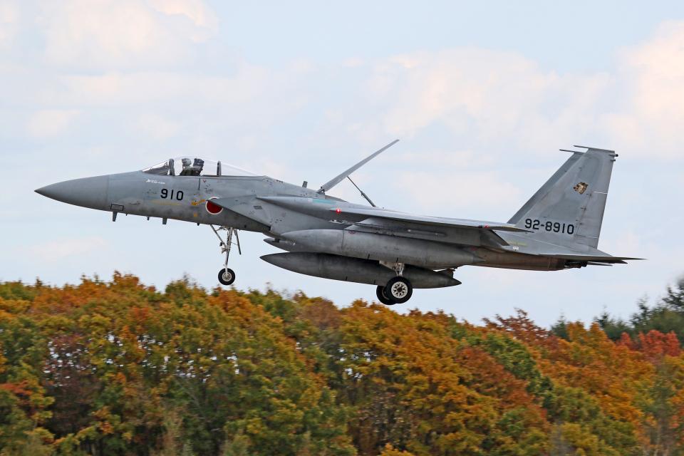 Echo-Kiloさんの航空自衛隊 Mitsubishi F-15J Eagle (92-8910) 航空フォト