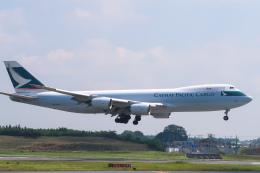 らむえあたーびんさんが、成田国際空港で撮影したキャセイパシフィック航空 747-867F/SCDの航空フォト(飛行機 写真・画像)