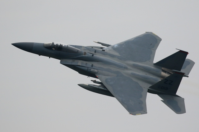 Kanarinaさんが、新田原基地で撮影したアメリカ空軍 F-15C Eagleの航空フォト(飛行機 写真・画像)